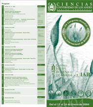 Diptico Congreso Jardín Botanico